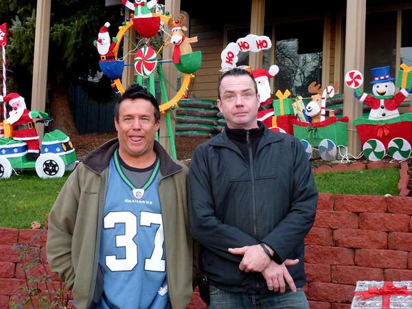 Two Christmas's 2011  Joe Wendi John Nick Joleen