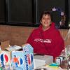 Janet Solomon at Christmas Bazaar.