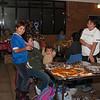 Food sales at Christmas Bazaar.