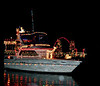 Christmas Boat Parade - Dec 18, 2010 : These photos were taken from the backyard of a friend of Sandy's who lives on the Grand Canal in Tortoise Island.