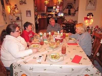 Christmas Dinner at Shaws December 2012