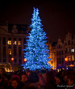 Christmas Market at Grote Markt, Brussels