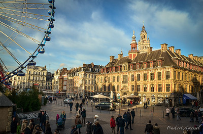Christmas Market at Lille, France