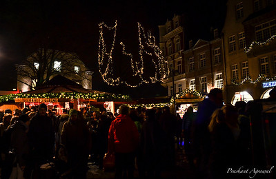 Christmas Market at Aachen, Germany