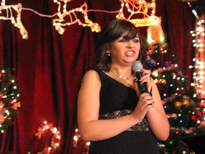 Video-Christmas Show 5 at Josette's Bistro 12-07-08