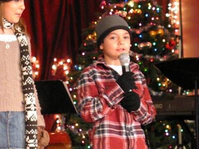 Video-Danny-Christmas Show 2 at Josette's Bistro 12-07-08