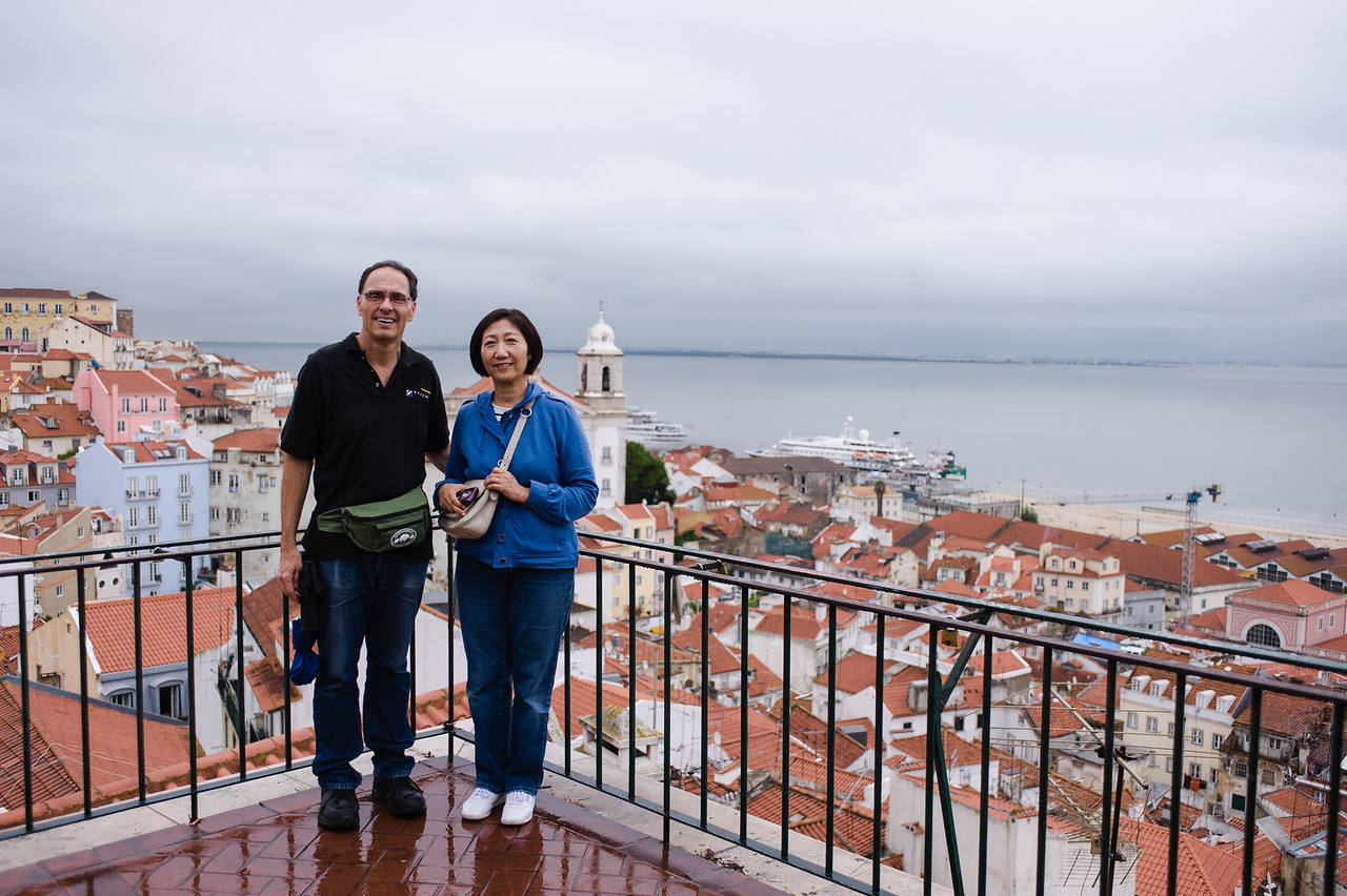 Dodging rain and exploring the city, Lisbon was beautiful and charming in its own right, as we learned about the Fado culture and explored the Palace.