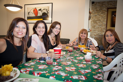 Christmas party of Chicas del gym
