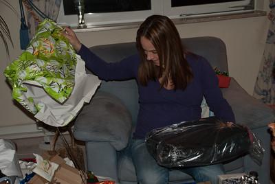 A laptop bag? Noooo... diapers