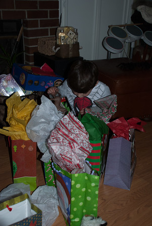 Any more presents in there?