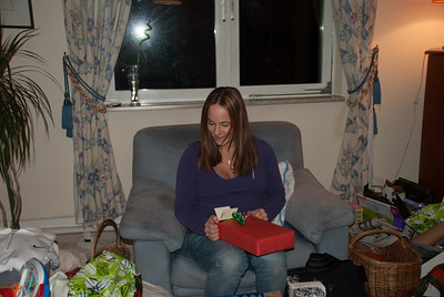 Silke enjoys all the baby stuff