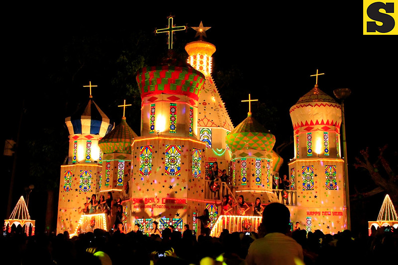 TANGUB CITY. The City switches on its 21st year of gigantic Christmas symbols festival on December 1. It showcases various countries that attract thousands of local and foreign tourists. The proceeds will be donated to the victims of Typhoon Yolanda. (Richel V. Umel)