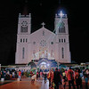 BAGUIO CITY. The annual sojourn to our churches begin December 16 with the start of the well-loved Filipino tradition of Misa de Gallo. Here the Cathedral welcomes its faithful. (Photo by Ramon David)