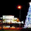 BACOLOD. The Negros Occidental Capitol Lagoon and Park in Bacolod City gets spruced up for the holidays with a Christmas tree as the centerpiece. (Photo by Archie Rey Alipalo of Sun.Star Bacolod)