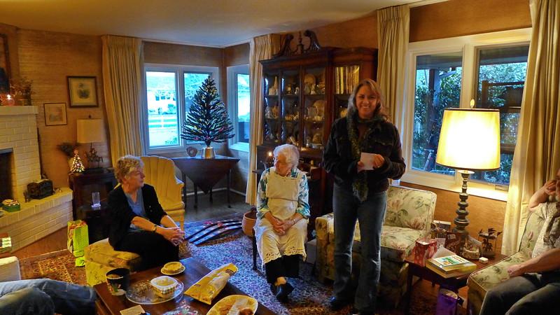 Christmas at Mom's, 2014.