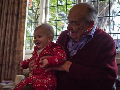 Granddad Granddad with Arthur.