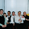 Conor, Eoin Murray, Marty Murray, Billy Gray, Michael Drumm and Christopher<br /> Christophers christening November 1999
