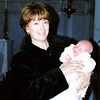 Patricia and Christopher<br /> Christophers christening November 1999