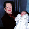 Chris and Christopher<br /> Christophers christening November 1999