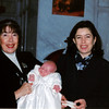Sheila, Eithne and Christopher<br /> Christophers christening November 1999