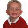 Jude Perry<br /> 1st day in P1 Holy Family Primary School<br /> Sept 2013