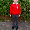 Jude Perry<br /> 1st day in P4 Holy Family Primary School<br /> September 2016