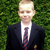 Christopher Perry age 11<br /> First day in Belfast Royal Academy<br /> September 2011