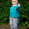 Jude Perry<br /> 1st day in Antrim Road playgroup<br /> Sept 2011