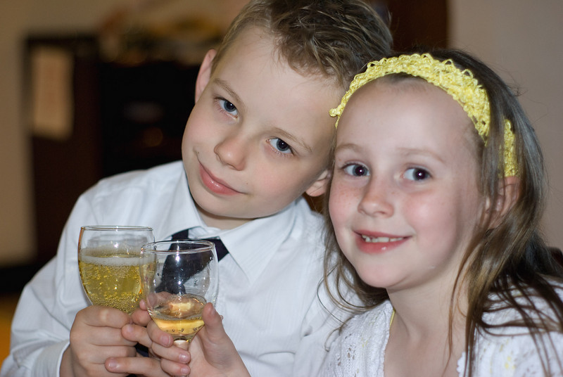 Christophers 1st Communion  <br /> Christopher and Fionnuala