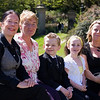 Christophers 1st Communion<br /> Auntie Chris, Granny, Christopher, Fionnuala, Mummy