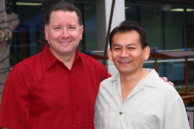 Mike Fabarez with Caesar Kavadoy