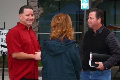 Mike Fabarez with Prophecy Attendees