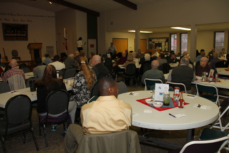 Heartland Districts United Methodist Mens Lenten Breakfast, March 23, 2013 at St. Luke's United Methodist Church, Kansas City, MO