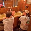 Matt and Dave fixing plumbing
