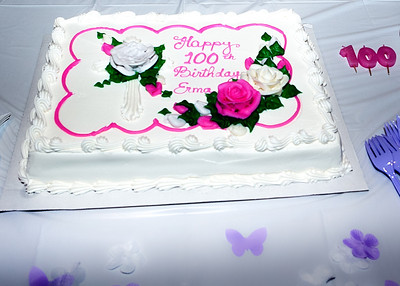 Erma Huff 100th BD