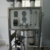 the reverse osmosis unit.