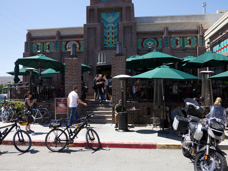 Urth Cafe, Downtown LA