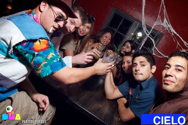 Halloween at CIELO Cantina, San Luis.  Party photos and more at http://www.dnaimagery.com