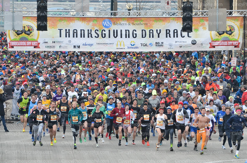 Cincinnati Thanksgiving Day Race Photos 2017