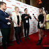 "Cinequest Host with the cast of ""Threesomething"""
