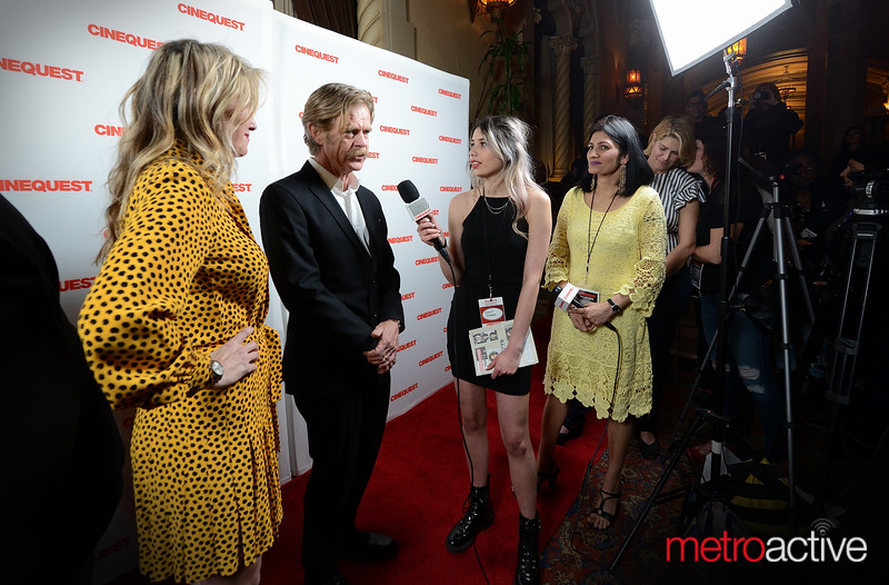 Cinequest Host interviews Rachel Winter and William H. Macy