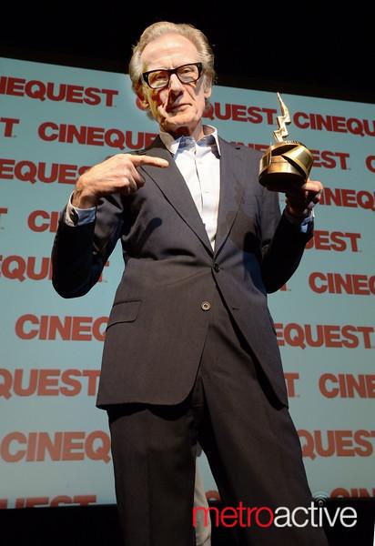 Bill Nighy - Maverick Spirit Award Winner