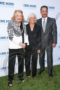BEVERLY HILLS, CA - SEPTEMBER 19:  (L-R) Actors Gena Rowlands, Glenn Close and Tom Hanks attend the Circle of Hope dinner and entertainment gala at Beverly Hills Hotel on September 19, 2012 in Beverly Hills, California.  (Photo by Chelsea Lauren/WireImage)