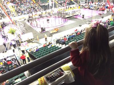 circus fun with Lila