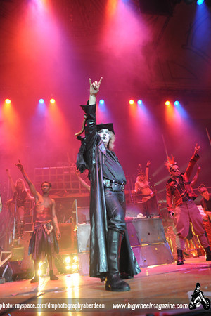 Circus of Horrors - St Valentines Massacre - at The Music Hall - Aberdeen, UK - February 14, 2011
