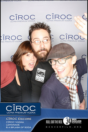 Ciroc Vodka Denver Film Festival Party
