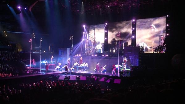 Cirque du Soleil Michael Jackson - The Immortal Tour, Staples Center Los Angeles CA January 28, 2012