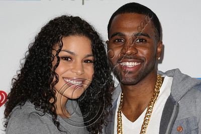 WEST HOLLYWOOD, CA - NOVEMBER 07:  Recording artists Jordin Sparks (L) and Jason Derulo attend the City of Hope's Fifth Annual MEI Comedy Roast Honoring Clear Channel's John Ivey at House of Blues Sunset Strip on November 7, 2012 in West Hollywood, California.  (Photo by Chelsea Lauren/WireImage)