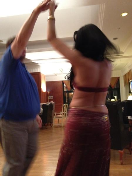 Hard working evening, Johanns dance