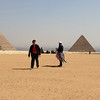 Giza Plateau and Johann